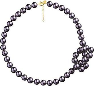 Misaki Collier ras de cou Vision de perles bleues