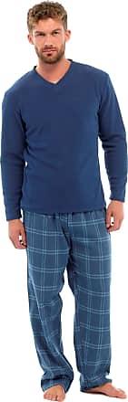 Tom Franks Mens Plain Cotton Short Sleeve Top Lounge Pyjamas