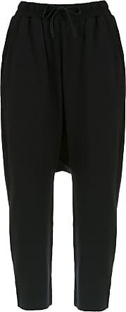 Uma Plural cropped trousers - Black