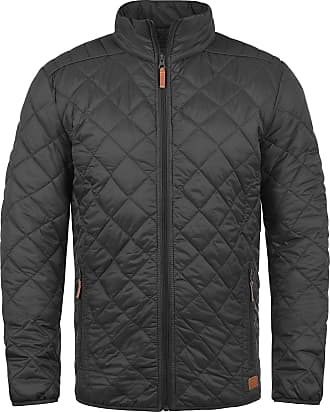 Blend Blend Stanley Mens Between-Seasons Quilted Jacket With Standing Collar, Made of High-Quality Material - Grey - 48