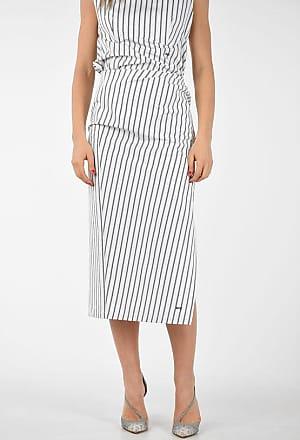 Off-white Striped Drape Skirt size 42