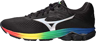 Mizuno WAVE RIDER 23 OSAKA, Mens Running Shoes, Black (Osaka Black/Black/Black 73), 10.5 UK