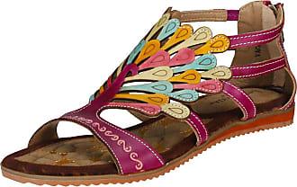 Laura Vita Womens VACCAO Gladiator Sandals, Purple Violet, 4 UK/37 EU