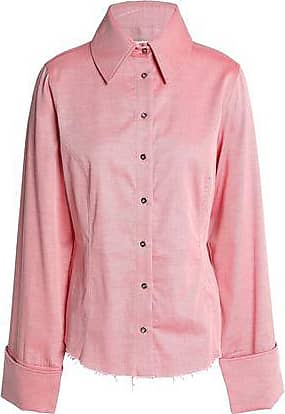 23f4aad9f5f9a1 Marques Almeida Marques Almeida Woman Cotton-twill Shirt Red Size XS
