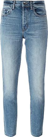 Helmut Lang cropped skinny jeans - Blue