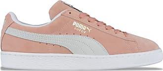 Puma Wildleder Classic Sneaker Muted Clay Weiß - UK 10