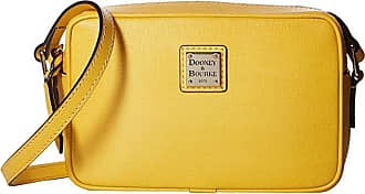 Dooney & Bourke Saffiano Camera Crossbody (Dandelion/Dandelion Trim) Cross Body Handbags