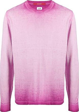 C.P. Company Moletom de jersey com efeito desbotado - Rosa