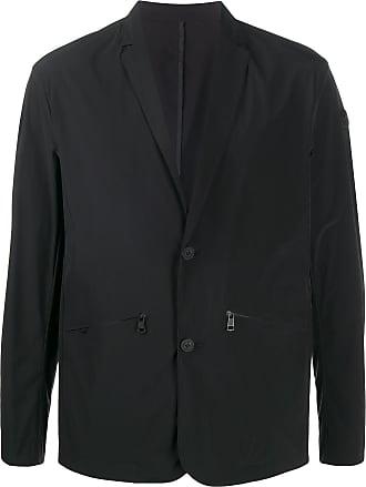 Moncler single-breasted lightweight jacket - Preto