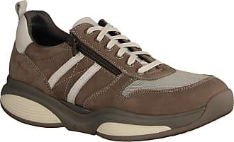 Xsensible SWX3 Men Taupe/White (Beige) - Sneaker - Mens Shoes Sneaker/Lace-Up Shoe, Beige, Leather 7textil Beige Size: 10.5 UK