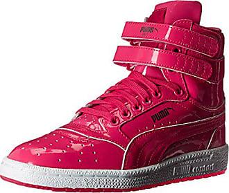 70b8257354f5 Puma Kids Sky II HI Patent JR Sneaker, Fuchsia Purple Puma Silver, 6