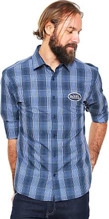 Von Dutch Camisa Von Dutch Reta Xadrez Azul