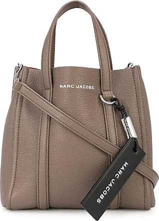Marc Jacobs The Tag Tote 21 in soil brown leather