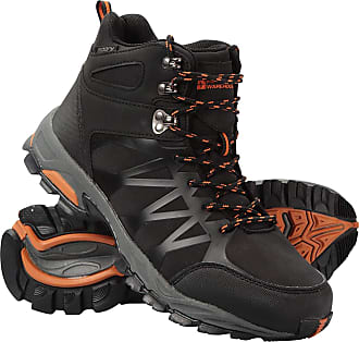 Phylon Midsole Shoes Mountain Warehouse Trekker II Mens Waterproof Softshell Boots Rubber Outsole Footwear Mesh Lined Padded Tongue Best for Travelling Hiking