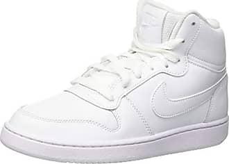 bc7cd105611ef Nike Ebernon Mid, Baskets Hautes Femme, Blanc (White 100), 40 EU