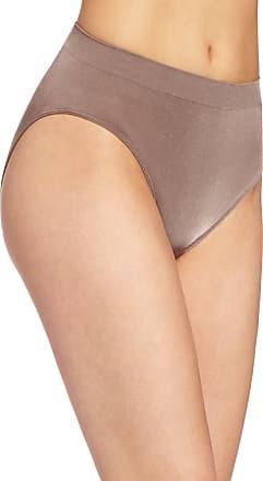 Wacoal Womens B Smooth Hi-Cut Panty Brief Panty, Cappuccino, Medium