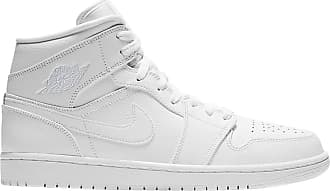 reputable site b37da 1c8bc Nike Jordan Air Jordan 1 Mid Mens - White - 44.5 EU