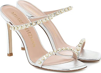 Stuart Weitzman Aleena embellished leather sandals