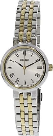 Seiko Womens SRZ462 Silver Stainless-Steel Japanese Quartz Dress Watch