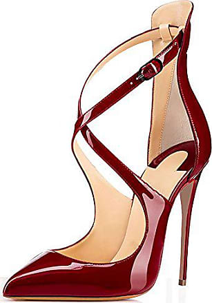 Schuhe, Pumps, Marco Tozzi, rot (vino), hoher Absatz , 37