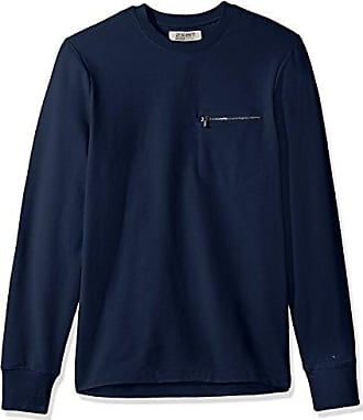 2(x)ist Mens Modern Classic Sweatshirt, Varsity Navy, Medium