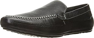 English Laundry Mens Lancaster Slip-On Loafer, Black, 12 M US
