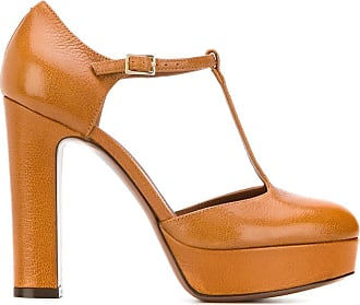 L'autre Chose Sapato Mary Jane com salto - Marrom
