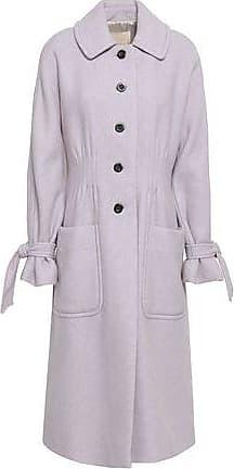 Rebecca Taylor Rebecca Taylor Woman Mélange Wool-blend Felt Coat Lilac Size 6