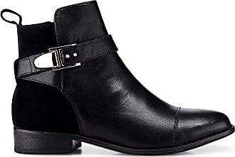 4525018cc0a142 Cox Damen Damen Trend-Bootie aus Leder