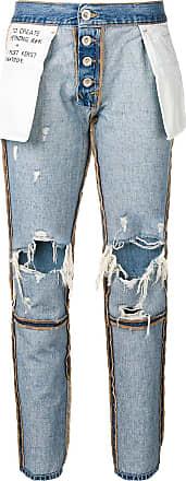 Unravel reverse boyfriend jeans - Blue