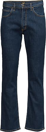 Lee Brooklyn Straight Jeans Blå Lee Jeans