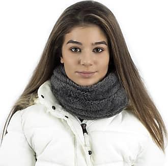 TOSKATOK Unisex Mens Ladies Kids Cosy Warm Snug Teddy Fur Fleece Ultra Soft Microfibre Dense Pile Balaclava Hood Snood Neckwarmer - GREY