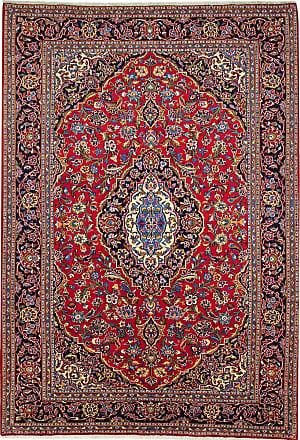 Nain Trading 291x206 Tappeto Orientale Keshan Ruggine/Viola (Persia/Iran, Lana, Annodato a mano)