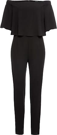 412ba850203bd6 Bodyflirt Jumpsuit mit Carmen-Ausschnitt in schwarz von bonprix