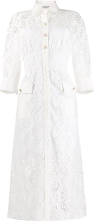Sandro Zenali floral lace dress - White
