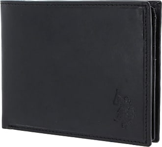 U.S.Polo Association U.S. POLO ASSN. Gary Horizontal Wallet with Flap Black