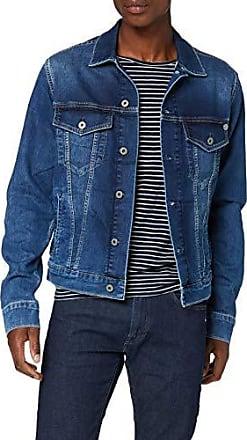 pepe jeans herren jacke echtleder palma