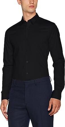 Only & Sons Mens Onsalfredo Ls Noos Formal Shirt, Black (Black Black), Small