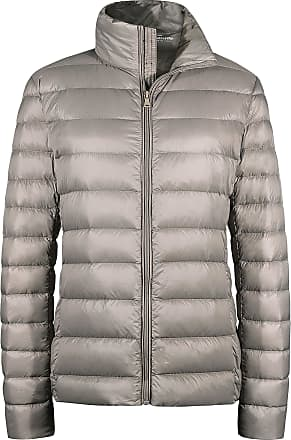 Wantdo Womens Packable Ultra Light Weight Down Jacket Khaki X-Large