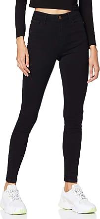 Jacqueline de Yong Womens Jdyjona Skinny Hw DNM Noos Slim Jeans, Black (Black Denim Black Denim), No Aplica /L32 (Size: 26)