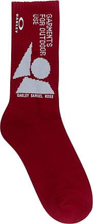 Oakley By Samuel Ross Oakley by samuel ross Geometric socks DARK WINE S/M