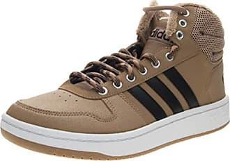 huge discount 280ba cc949 adidas Hoops 2.0 Mid, Herren Basketballschuhe, Braun  (CardboardCblackFtwwht)