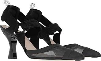 Fendi Pumps - Colibri Decollete Sling Pumps Black/Black - black - Pumps for ladies