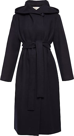 The Row Coat With Tie Fastening Womens Navy Blue
