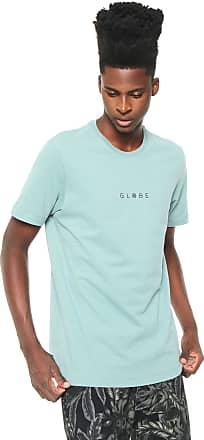 Globe Camiseta Globe Marble Verde