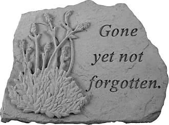 Kay Berry Gone Yet Not Forgotten Memorial Stone - Lavender Design - 07025
