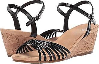 Aerosoles A2 Womens Fruit Cake Sandal, Black Patent, 9.5 M US