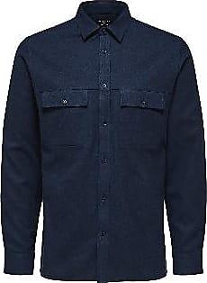 Selected Pine Shirt - Sky Captain - Size XL