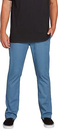 Volcom mensA1131807Volcom Mens Frickin Modern Fit Stretch Chino Pant Casual Pants - Blue - 31X32