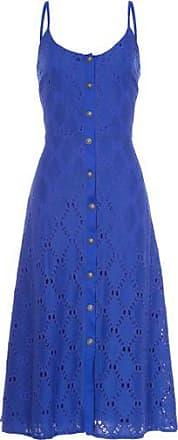 NICA KESSLER Vestido Midi Renda Nica Kessler - Azul